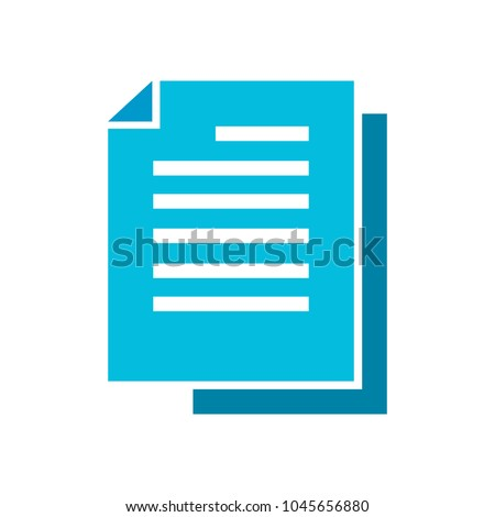 copy file icon, document icon