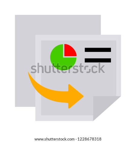 Copy file sign icon. Duplicate document button