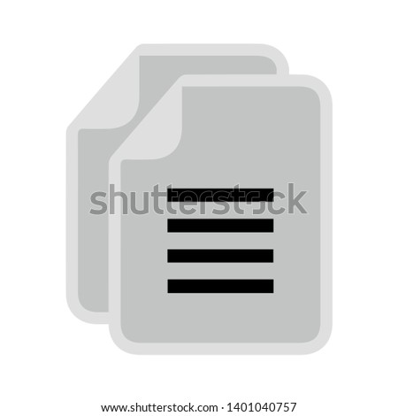 Copy file sign icon. Duplicate document symbol. Document file vector icon. filled flat sign for mobile concept and web design. Paper documents glyph icon. Copy file icon. Duplicate document symbol.