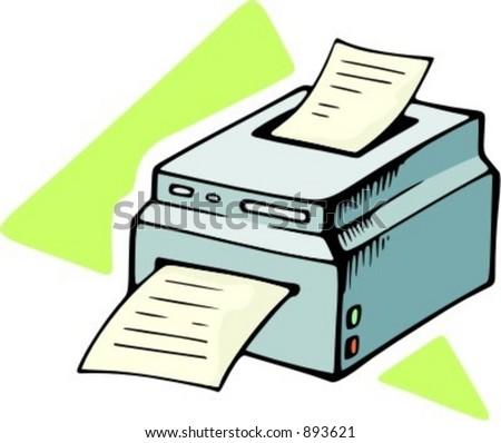 Copy machine.
