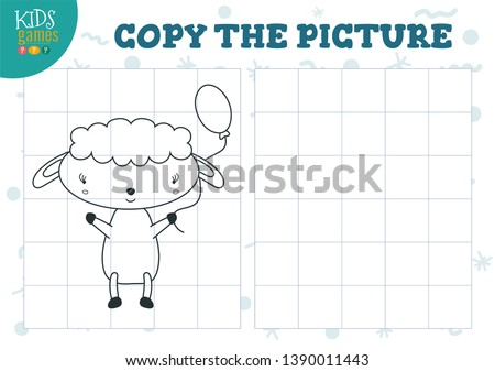 copy picture by grid vector