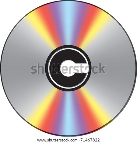 Copyright marked CD