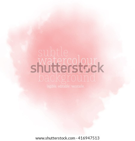 coral watercolor background