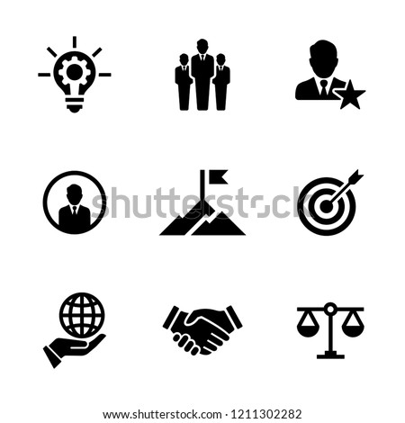 CORE VALUES ICON SET