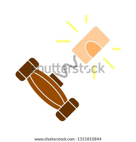 corkscrew icon, corkscrew illustration - vector cork screw, party symbol isolated. drink element