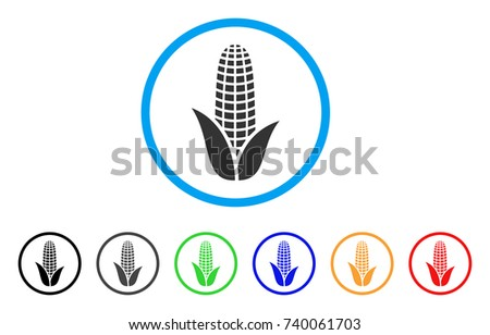 Ear Of Corn Vector Flat Icons Download Free Vector Art Stock