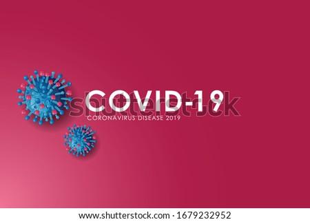 Corona virus (COVID-19) outbreak pandemic alert. Wuhan virus disease, infections alert, symptom, prevention info graphics, Logo & symbol. World health organization. Vector for your design use.