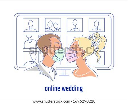 corona virus pandemic wedding