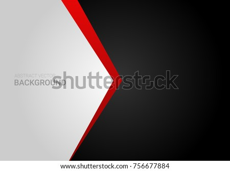 corporate abstract vector red