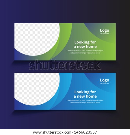 corporate business web banner template