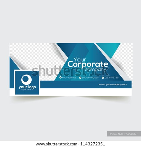 Corporate facebook timeline cover design