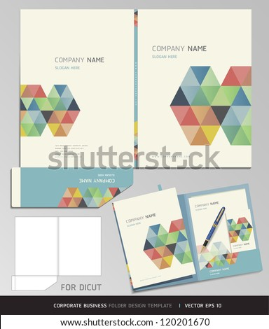 corporate identity business set