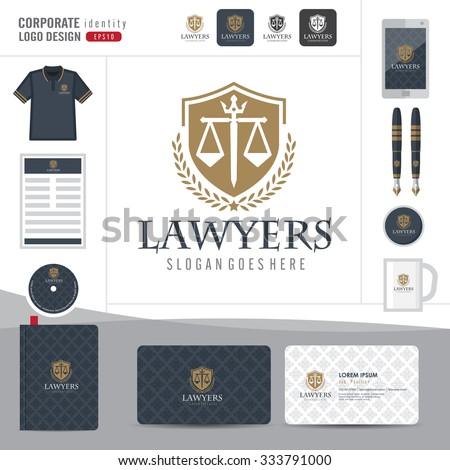 corporate identity logo law