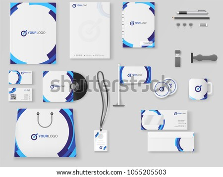 Corporate Identity. Professional Business Branding Kit including Letter Head, Web Banner or Header, Notepad and other objects.