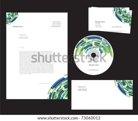 corporate identity template - part 1
