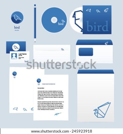 corporate style design template