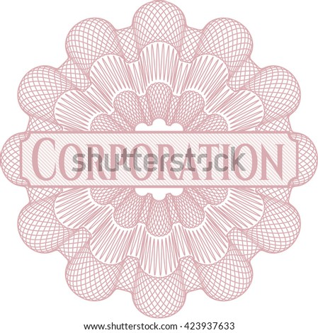 Corporation abstract rosette