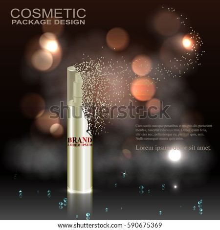 cosmetic ad template