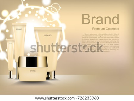 cosmetic ads template  cosmetic