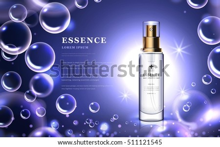 cosmetic ads template  essence