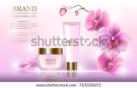 cosmetic beauty set of body