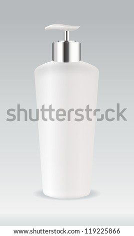 Cosmetic container bottle