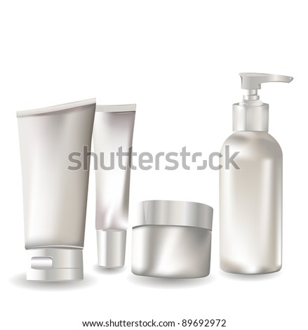 Cosmetic container set