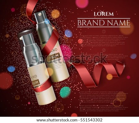 cosmetic cream for face skin