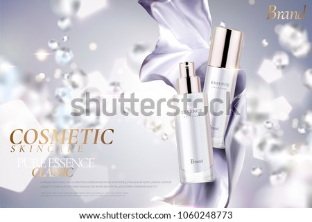 cosmetic essence ads  exquisite