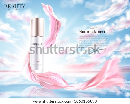 cosmetic product ads  essence