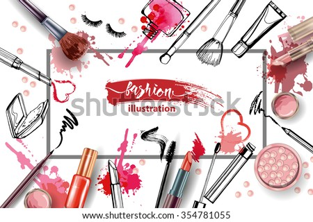 cosmetics and fashion