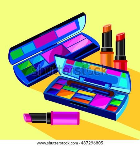 cosmetics  design  glamour