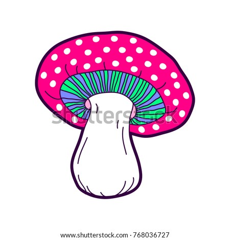 Cosmic crazy mushroom patch.