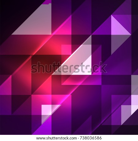 cosmic electric background with