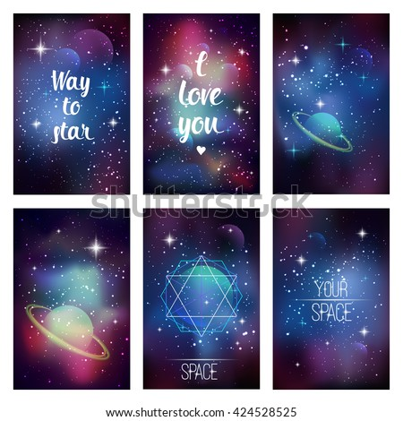 cosmic greeting card way to