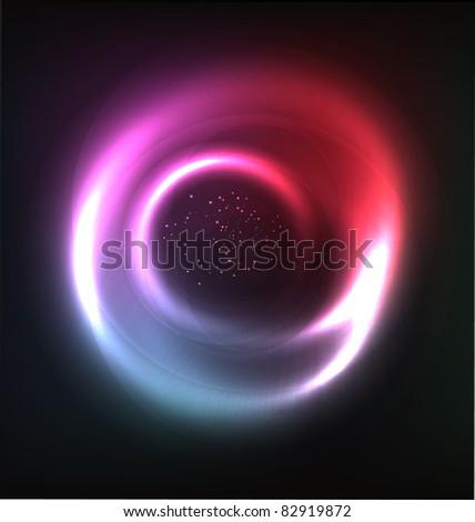 cosmic vector shiny background