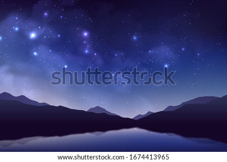 cosmos background with