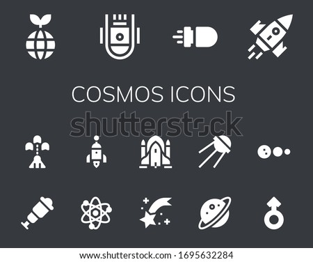 cosmos icon set 14 filled