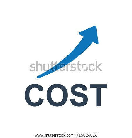 cost rising icon