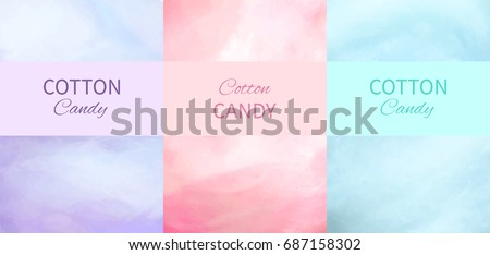 cotton candy backgrounds in