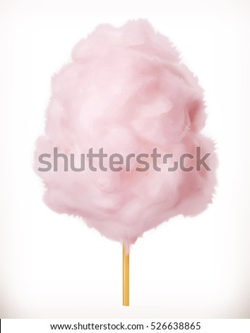 cotton candy sugar clouds 3d