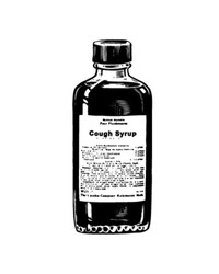 Cough Syrup - Retro Clip Art
