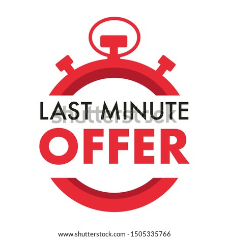 countdown  last minute offer