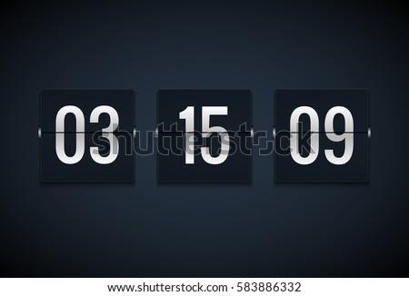 Flip Clock Font