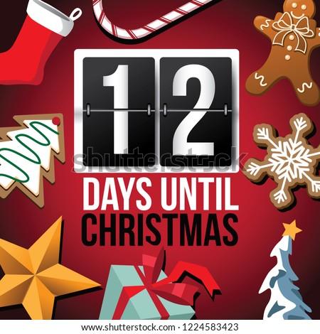 countdown to christmas flip