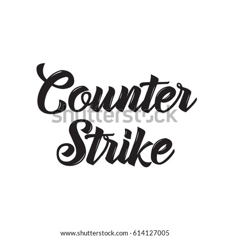 counter strike  text design