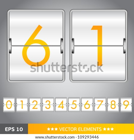 counting device for web design