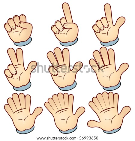 Counting vector hand
