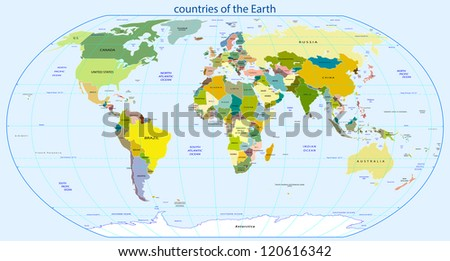 countries of the earth