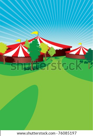 country fair background